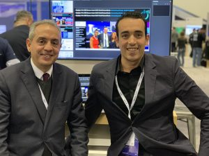 YLA & Hassan Bahej President of IBM Morocco @PowerM Booth 629 @Think 2019